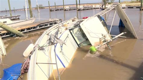 The Pantry Port Lavaca Tx by Residents In Port Lavaca Survey Damage To Boats Left