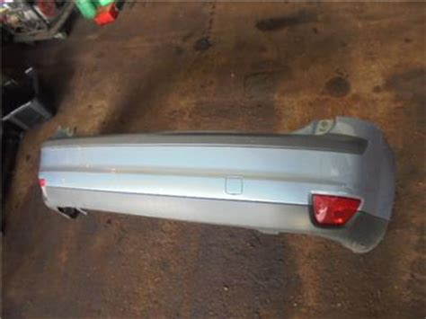ford focus paint colour z3 ford focus mk2 hatchback rear back bumper blue paint code