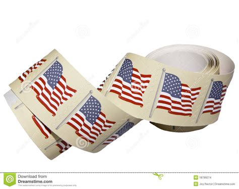roll of roll of postage sts stock images image 18799274