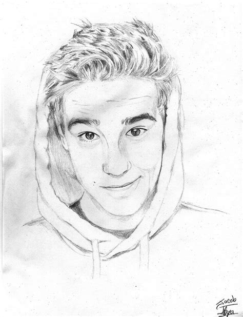 Sketches O Loughlin by Jacob Whitesides This Is A Drawing J A C O B