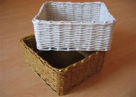 Basket With Paper - rolled paper crafts diy projects craft ideas how to s