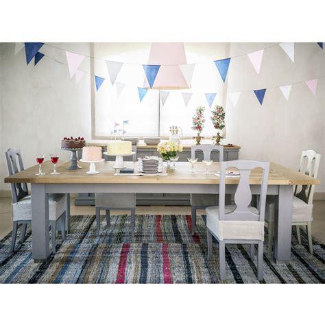 tavolo rovere grigio tavolo in legno di rovere grigio design moderno l180x