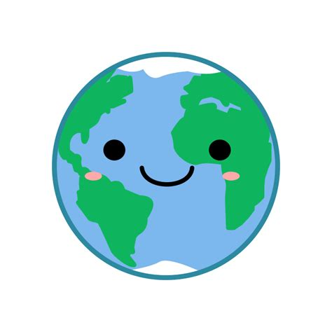 imagenes kawaii pdf clipart kawaii earth
