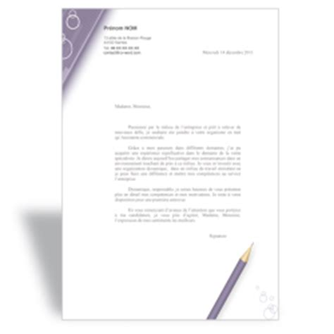 Lettre De Motivation De Soudeur Mod 232 Les De Lettres De Motivation Word Cv Word