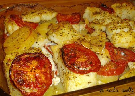 baccal 224 al profumo di le nostre ricette teglia di baccal 224 patate e pomodori