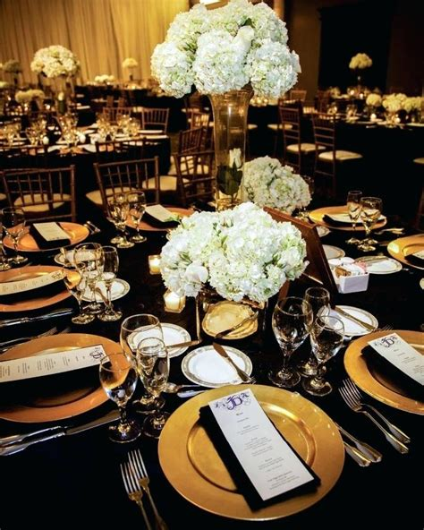 black white and gold centerpieces for wedding black and gold decorations ideas lovely black gold decorations luxurious and splendid decor