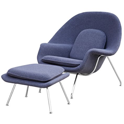 Chair And Ottomon by Woom Chair And Ottoman