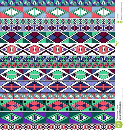 ndebele stock images royalty free images vectors african tribal art pattern stock vector image of