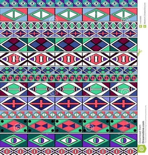 vector background ndebele artwork african tribal art pattern stock vector image of