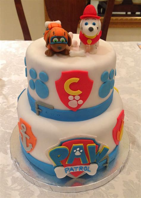 Bday Decoration Ideas At Home by Kaylynn Cakes Paw Patrol