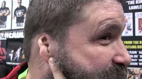 mick foley recalls devastating loss   ear