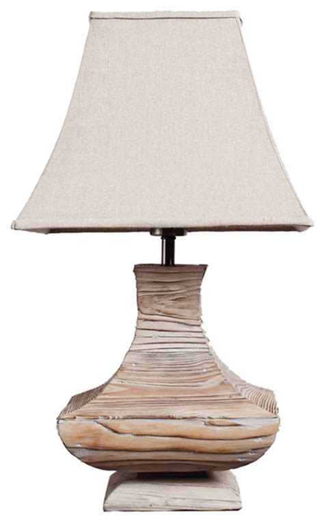 Livingroom Table Lamps by Handmade Wooden Urn Traditioal Living Room Table Lamp