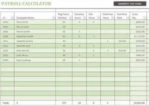 payroll spreadsheet template excel 3 free excel payroll templates