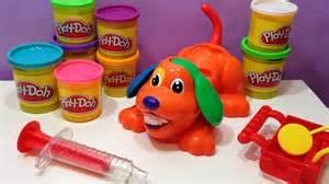 play doh doctor de play doh el perrito chiflado juguete de