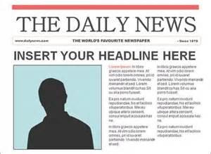 free newspaper template eknom jo