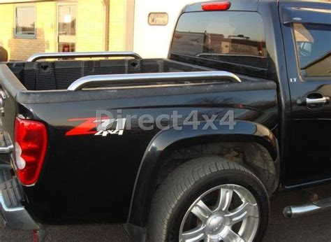 ford ranger bed rails ford ranger up to 2005 stainless steel side bed rails bars