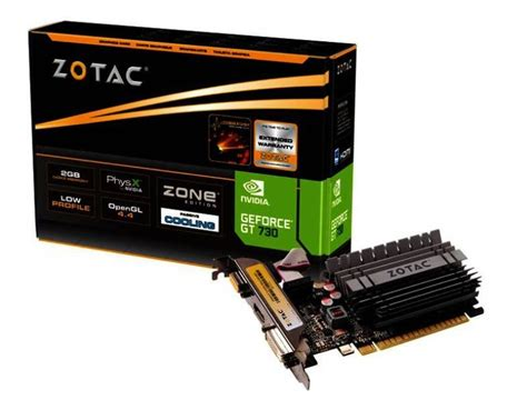 Vga Zotac Gt 730 Zotac Geforce Gt 730 2gb Ddr3 Vga Dvi Hdmi Pci E Graphics