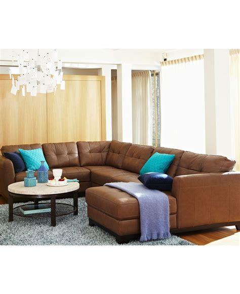 macys living room furniture martino leather sectional living room furniture sets