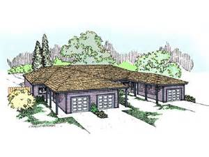triplex house plans with garage home design and style triplex house plans cost cutting living