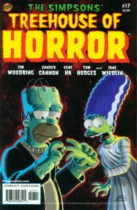 going bats a marge mystery books bart s treehouse of horror 17 nosferatu a
