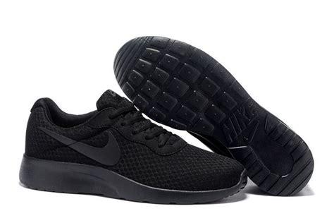 cheap wholesale nike tanjun shoes running all black