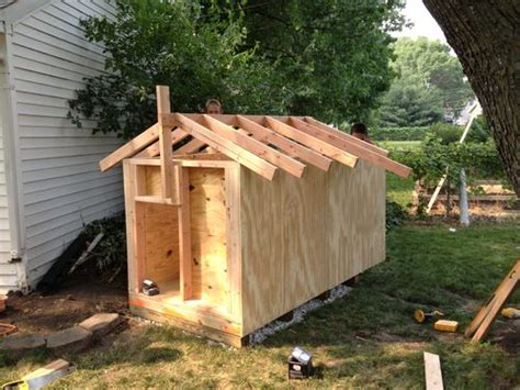 roof dog house monster dog house 1 foundation and framing by milbert lumberjocks com woodworking community