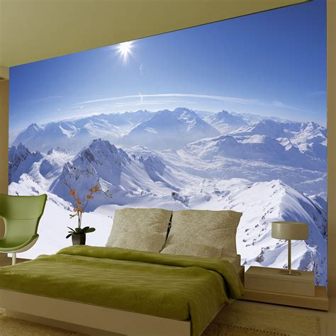 wall mural photo wallpaper large wallpaper feature wall murals landscapes landmarks cities and more ebay