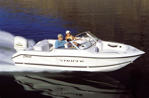 striper boats reviews seaswirl turns 40 boats