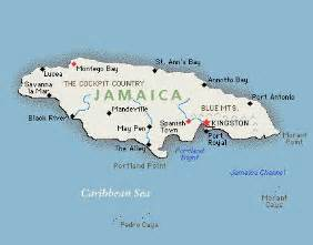 Where Is Jamaica On The Map Of The World by Map Of Jamaica
