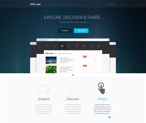 35 responsive bootstrap landing page templates web