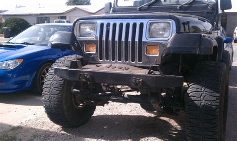 91 Jeep Wrangler Yj For Sale Trade 91 Jeep Wrangler Lifted With 35 Quot S