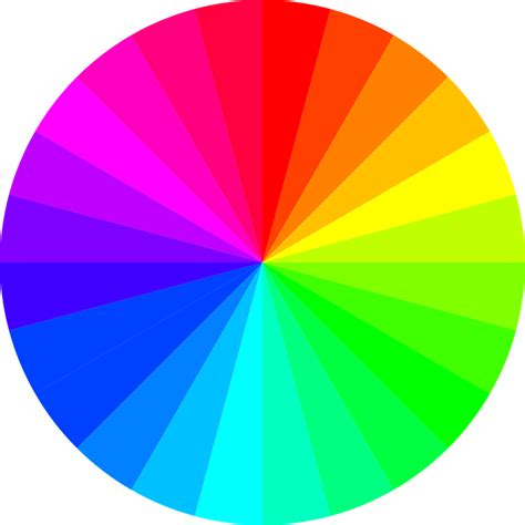 spectrum colors rainbow colors circle color 183 free vector graphic on pixabay