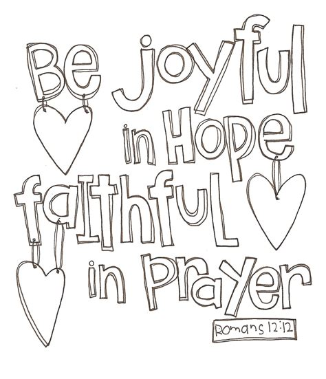 printable hope quotes doodle a verse romans 12 12 internet cafe devotions