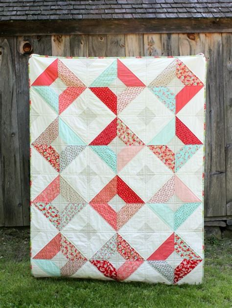 quilting tutorial pinterest double sided diamond quilt tutorial layer cake quilt