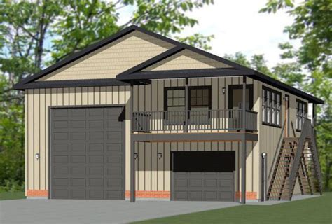 rv garage plans with apartment 36x40 apartment with 1 car 1 rv garage 902 sqft pdf