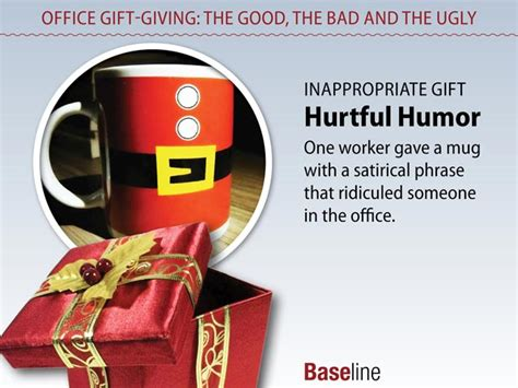 office holiday gifts should be appropriate