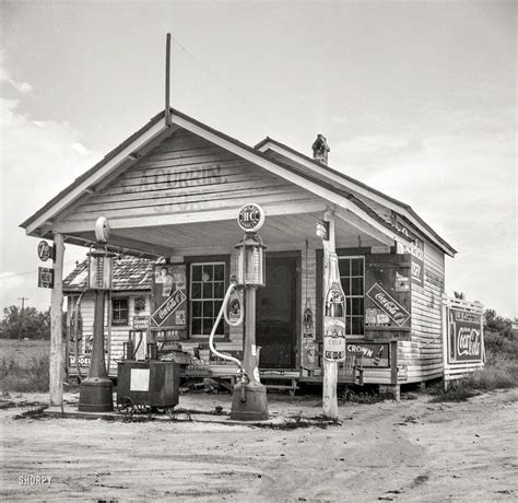 garage granville shorpy historical photo archive currin grocery and gas