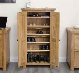 original rustic shoe storage cabinet cupboard unit solid