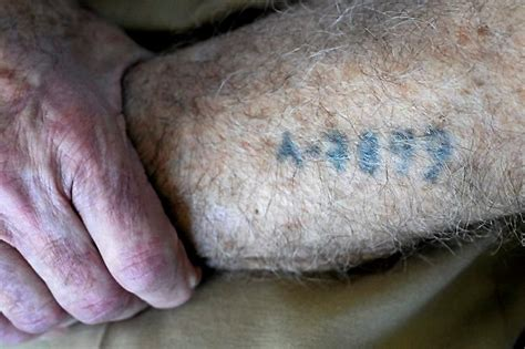 elie wiesel tattoo auschwitz tattoos elie wiesel cons the world auschwitz