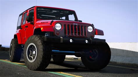 modded jeep jeep wrangler 2012 rubicon gta5 mods com