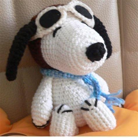 amigurumi snoopy pattern amigurumi pilot snoopy puppy dog crochet pattern 6 50