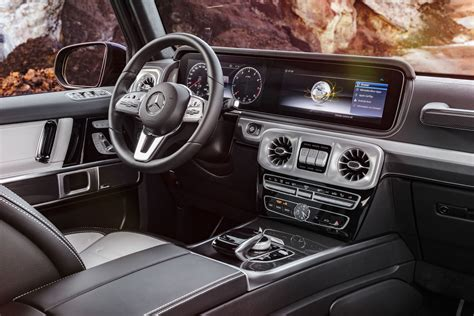 G Interior by Mercedes Has Revealed Its New G Class Interior