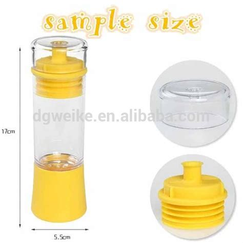 New Collour Sprei Anti Air Size 120x200 cooking plastic spray bottle with silicone brush