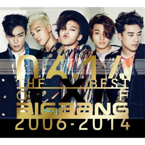 the best of 2014 the best of bigbang 2006 2014 3cd