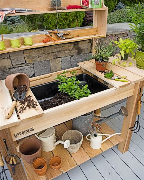 indoor potting bench best 25 outdoor potted plants ideas on pinterest potted