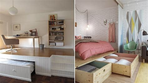 tiny bedroom hacks 21 brilliant ways to squeeze more space out of your tiny