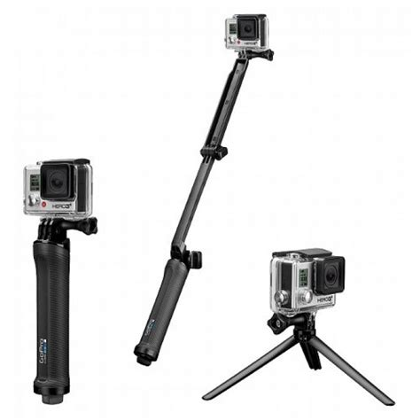 Dijamin Tongsis 3 Way Go Pro gopro 3 way mount grip arm tripod parallel imported