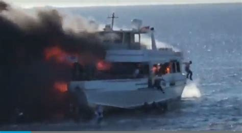 casino boat fire death woman dies after fire on casino boat off florida s coast