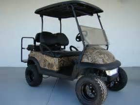 hunting camo golf cart king of carts discount used