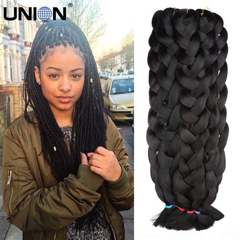 hair of the saying 11pcs dhl free shipping 165gram 42 quot black 14color xpression braiding hair expression